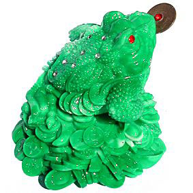 Moon Money Frog Jade Finish 140mm