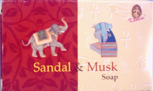 Sandal & Musk, 100% Vegetable Based Soap