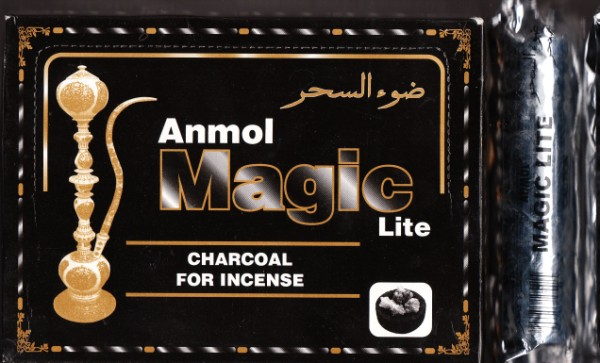 Charcoal Tablets 10 Pack Anmol Magic Lite Resins Wicca Herbs