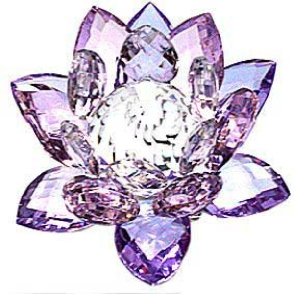 CRYSTAL LOTUS, 3 COLOURS HEAVENLY lUCK